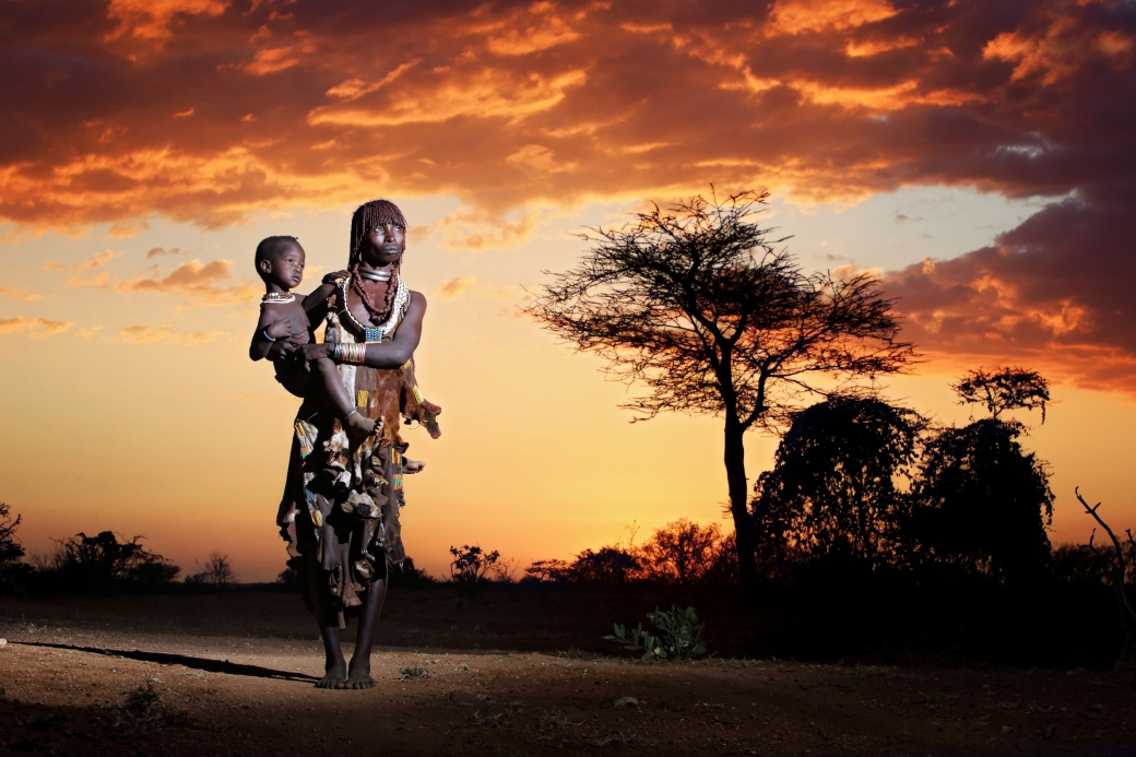 mother-and-child-afrika